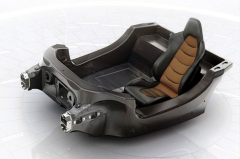McLaren Kembangkan Monokok Serat Karbon