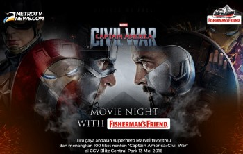 Daftar Pemenang Nonton Bareng Captain America: Civil War