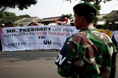 TNI Sediakan Rumah Sementara untuk Warga Eks Kodam Bintaro