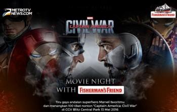 Serunya MOVIE NIGHT-Captain America Civil War