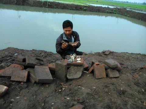 Pembangunan Kolam Pancing di Jombang Diduga Merusak Cagar Budaya.