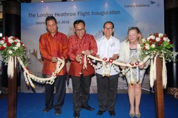 Perkuat Branding, Garuda Indonesia Buka Layanan Terbang ke London Heathrow