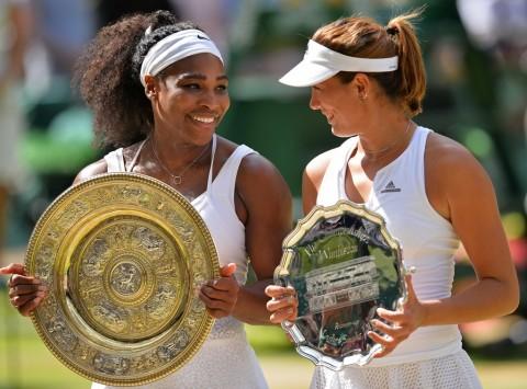 Lolos ke Final, Serena Sudah Ditunggu Muguruza
