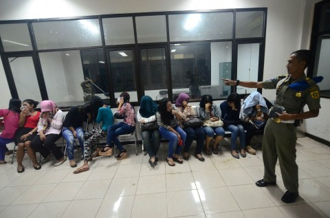 Belasan PSK Ditangkap di Bogor