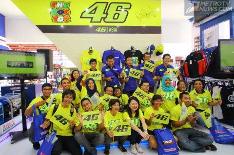 <i>Apparel</i> VR46 Tersihir Fan Base di Indonesia