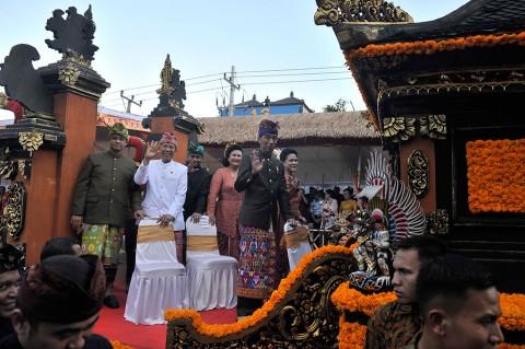 Jokowi Buka Pesta Kesenian Bali Ke-38