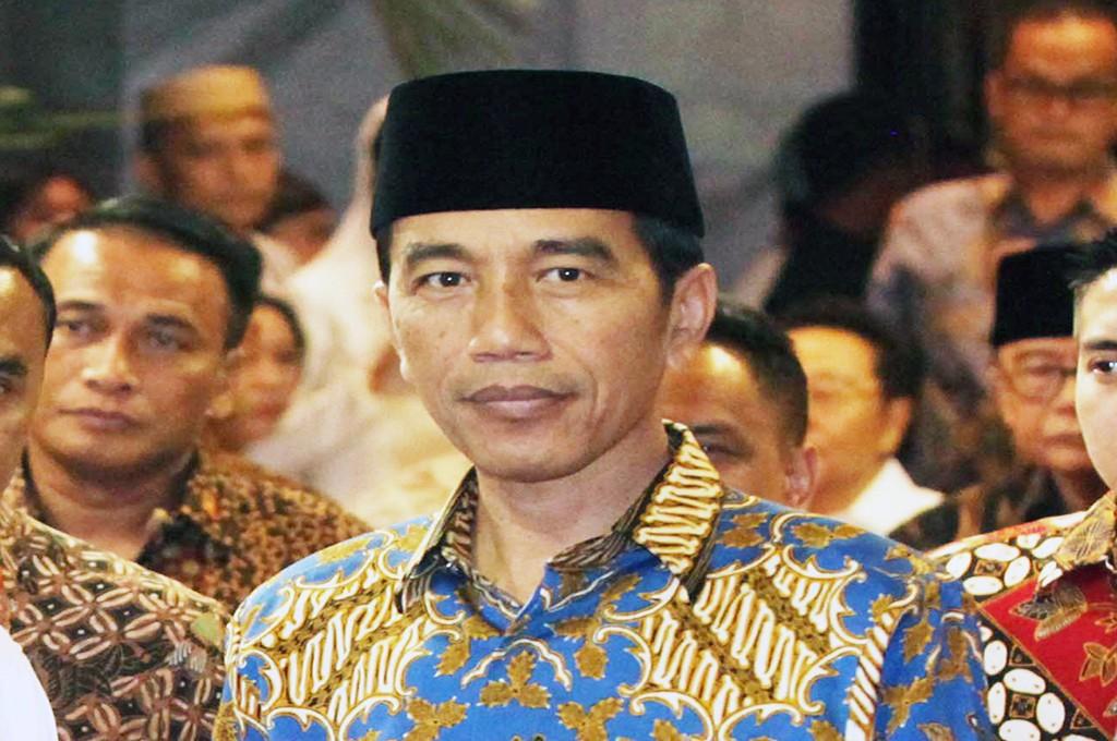 Presiden Joko Widodo -- MI/Ramdani