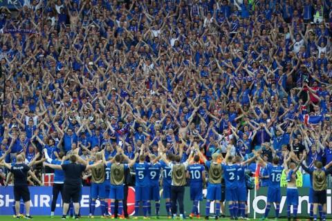 Ilustrasi Gol: Islandia Cetak Sejarah di Piala Eropa 2016