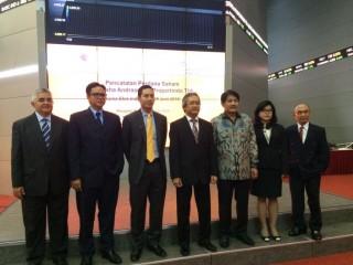 Perdana IPO, Saham JGLE Melesat ke Rp188/Saham