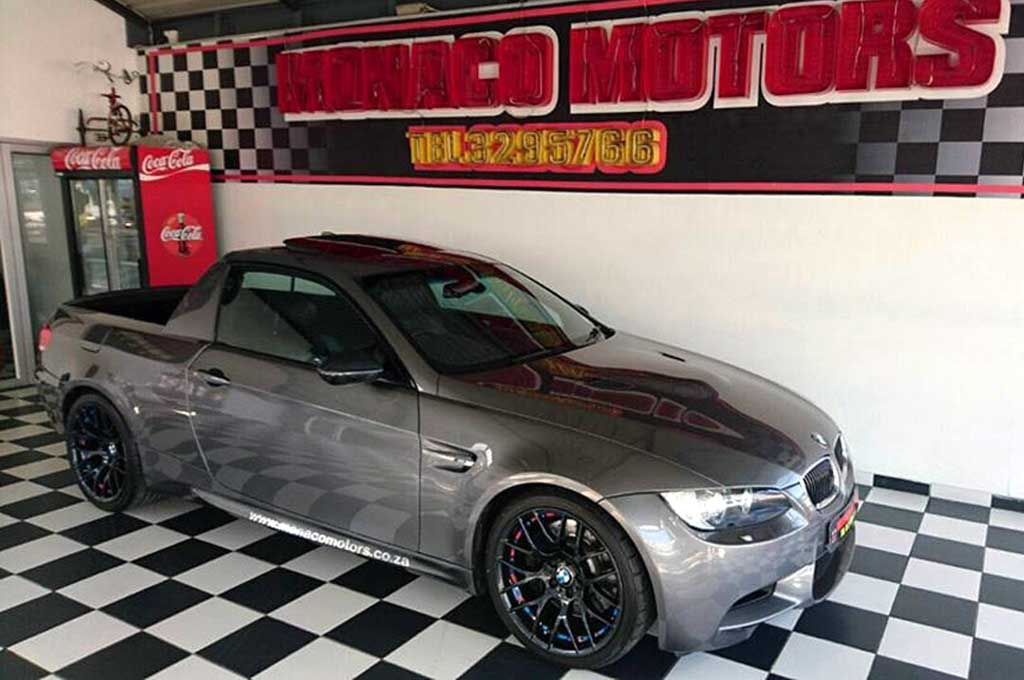 Mad dog Racing membuat mobil pickup dengan basis BMW E36 M3. Carscoops