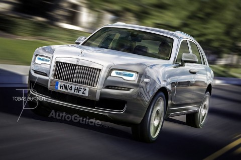 Culinan, SUV Baru Rolls-Royce Pesaing Bentayga