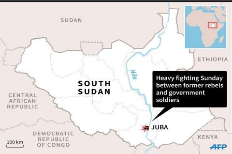 Ratusan Orang Tewas dalam Pertempuran di Sudan Selatan