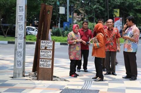 Kota Surabaya Dipercantik sambut Tamu Komisi Konferensi PBB