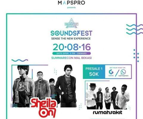 Sheila On 7 akan Manggung di Sounds Festival 2016, Summarecon Mall Bekasi