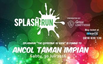 Splash Run 2016, Event Lari Terseru dan Ekspresif di Jakarta