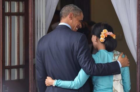 Suu Kyi Terima Undangan Presiden Obama