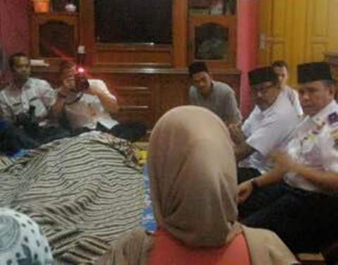 Gubernur Banten Sampaikan Duka ke Keluarga Petugas Dishubkominfo