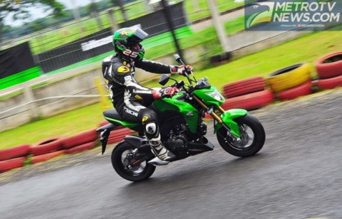 Suspensi Bermasalah, Kawasaki <i>Recall</i> Z125 Pro
