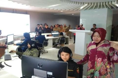 600 Kamera CCTV Pantau Pergerakan Warga Surabaya