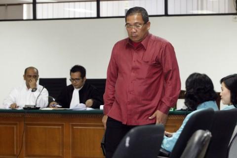 Pengurus Demokrat Riau Dijebloskan ke Rutan