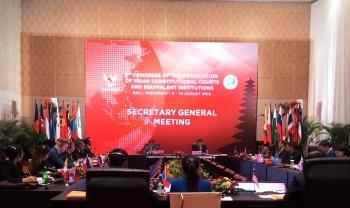 Pertemuan Sekjen AACC Hasilkan Beberapa Usulan untuk Ketua MK