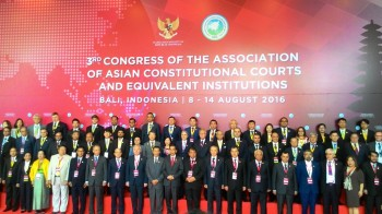 Presiden Jokowi Apresiasi Kongres ke-3 AACC di Bali