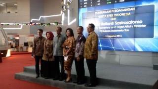 Manajemen Holcim Indonesia Buka Perdagangan Bursa