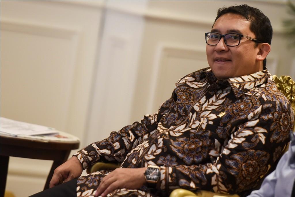 Wakil Ketua DPR Fadli Zon. ANT/Hafidz Mubarak.