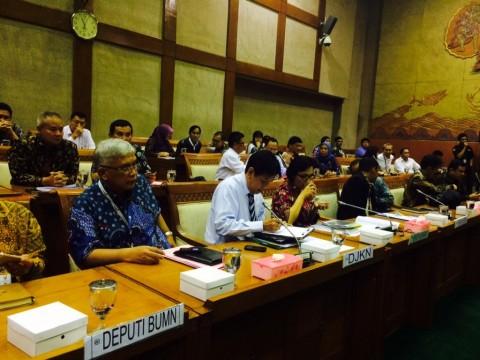Komisi VI Restui <i>Right Issue</i> 4 BUMN Tbk Pakai Anggaran PMN