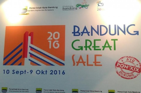 Jelang PON, Berbelanja di Bandung Dapat Diskon hingga 80 Persen