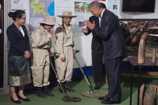 Obama Sebut Laos Masih di Bawah Bayang-Bayang Perang