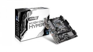 ASRock Rilis Motherboard Skylake Ekonomis H110M-DS/Hyper