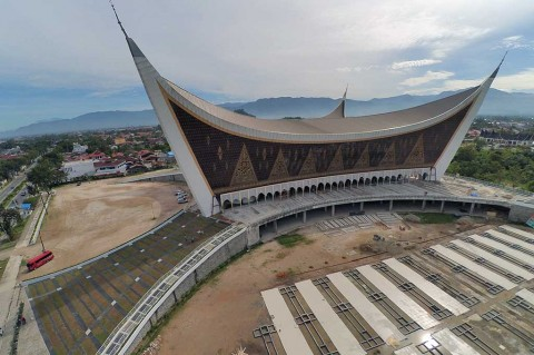 Kelanjutan Pembangunan Masjid Raya Sumbar