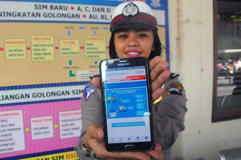 Polres Klaten Luncurkan Layanan Delivery SIM Online