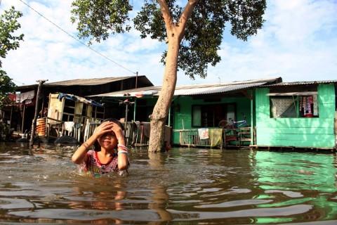 10 Ribu KK di Medan Terdampak Banjir Rob