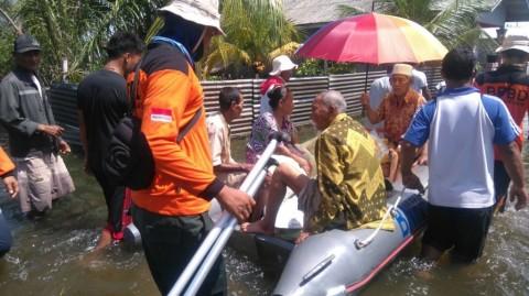 Curah Hujan Tinggi Perparah Banjir Rob di Medan