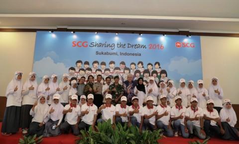 Sharing the Dream, Kontribusi SCG Bantu Pendidikan Anak Bangsa