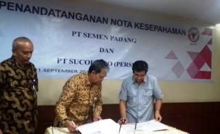 Sucofindo-Semen Padang Sinergi Bisnis Barang Jasa Industri Semen