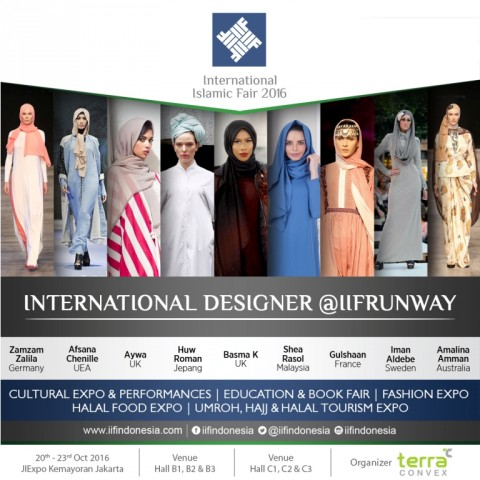 IIF 2016 Hadirkan Parade Desainer Internasional