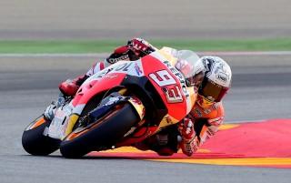 Kalahkan Valentino Rossi, Marc Marquez Tercepat di FP 1