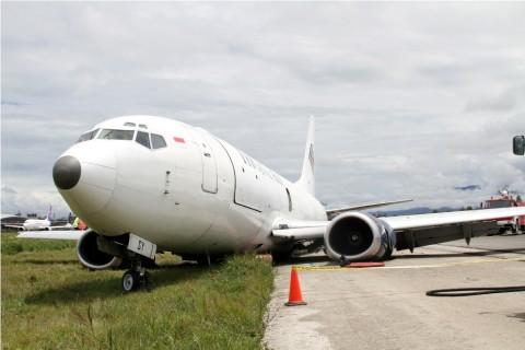 Pesawat Learjet Tergelincir, Bandara Halim Sempat Ditutup Sementara