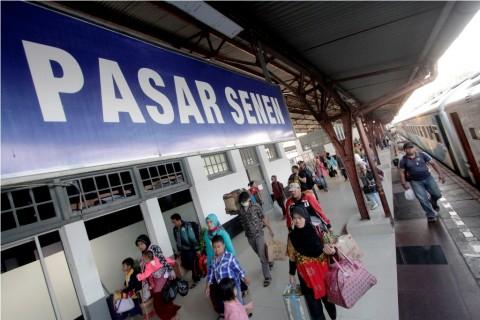 Mulai 1 Oktober Perlintasan Sebidang KA Pasar Senen Ditutup