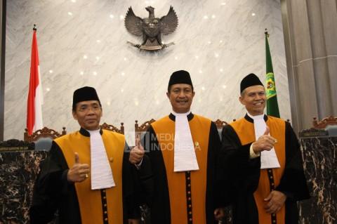 Tiga Hakim Agung Baru Resmi Dilantik