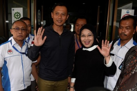 Agus Yudhoyono & Rano Karno Hadiri Acara Munakernas PPP