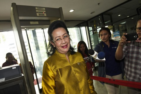 Dua Pimpinan DPD Jenguk Irman Gusman