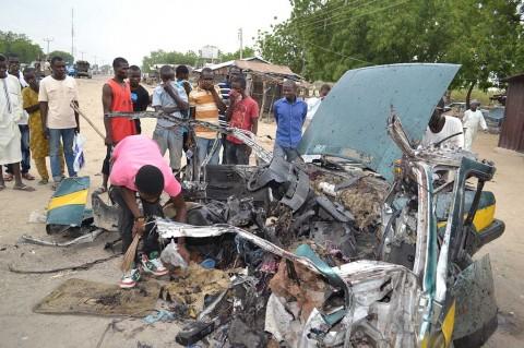 Pembom Bunuh Diri Wanita Tewaskan 8 Orang di Nigeria