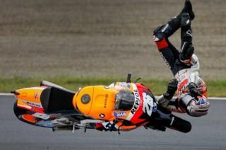 Pedrosa Patah Tulang Selangka di Sesi Latihan MotoGP Motegi