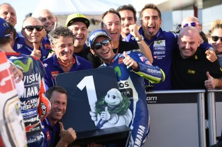 Valentino Rossi Sukses Raih <i>Pole Position</i> di GP Jepang