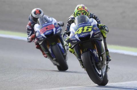 Rossi dan Lorenzo Mengaku Salah di MotoGP Jepang