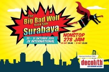 Big Bad Wolf Book Sale 2016 Diselenggarakan di Surabaya, 20-31 Oktober